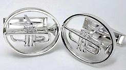 Trumpet Cuff Links