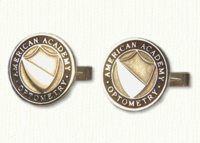 Custom American Academy of Optometry Cuff Links