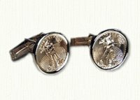 American Eagle Coin Cuff Links