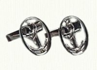 Anchor Link Cuff Links and Tie Tack