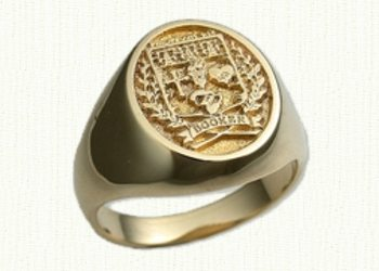 Family Crest Signet Ring