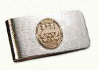 Family Crest Money Clip