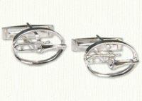 Trombone Cuff Links