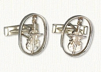 Violin Cuff Links